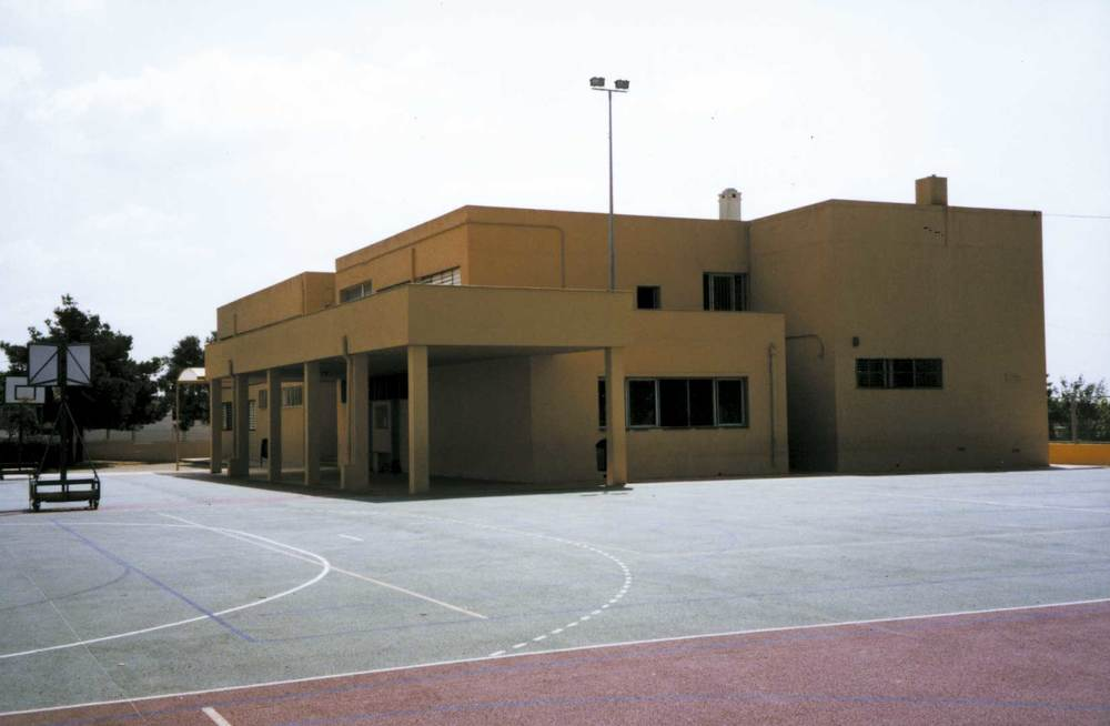 El col·legi Cas Serres. Foto: Neus Garcia Ferrer.