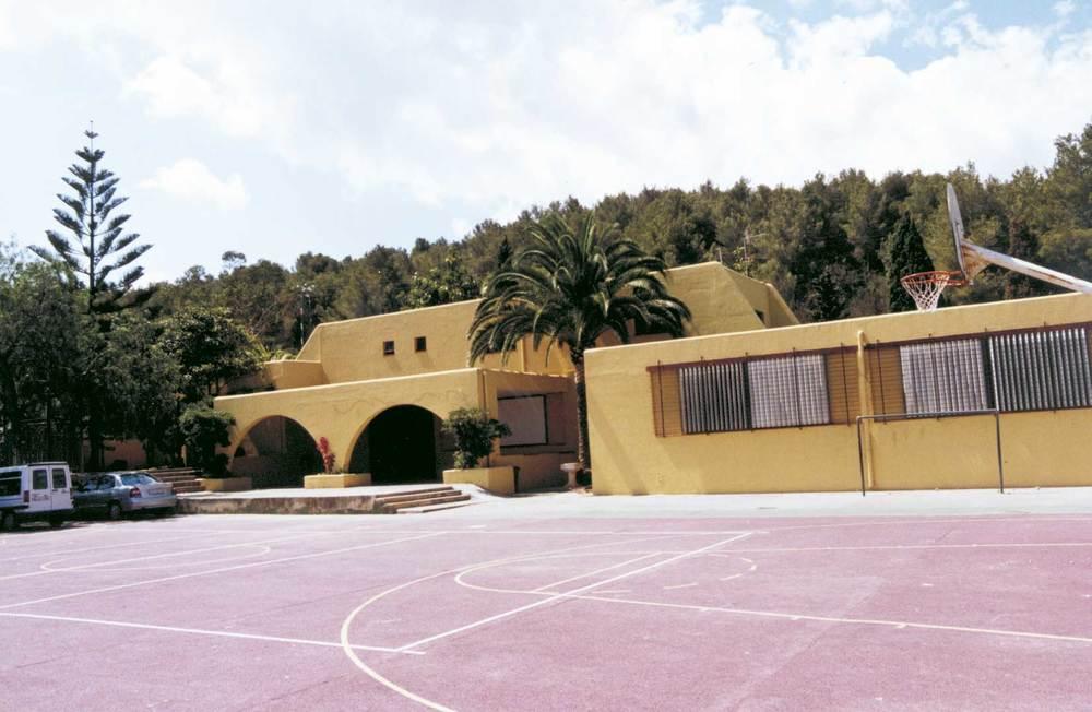 El col·legi de Sant Joan de Labritja. Foto: Neus Garcia Ferrer.