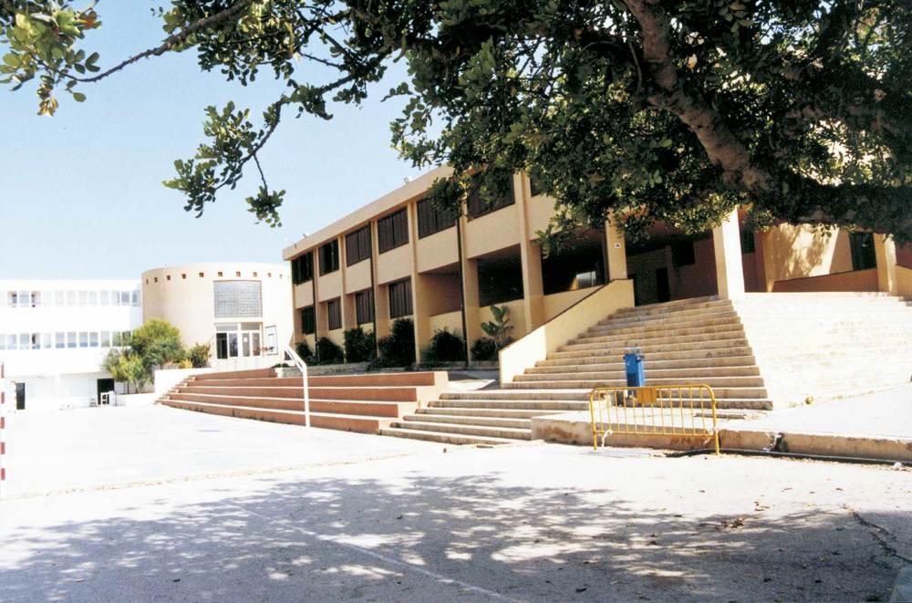 El col·legi de Santa Eulària. Foto: Neus Garcia Ferrer.