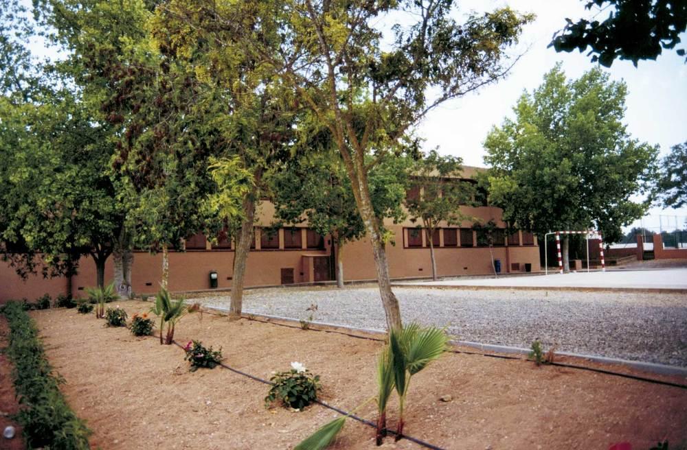 El col·legi de Santa Gertrudis. Foto: Neus Garcia Ferrer.