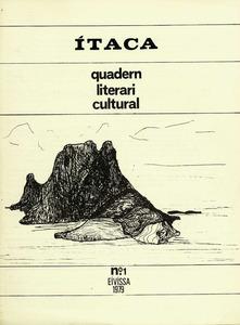 Portada del número 1 de la revista literària Ítaca, que dirigia el poeta Jean Serra.