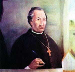 Retrat del bisbe Manuel Abad i Lasierra que es conserva en el Seminari d´Astorga. Abad fou el primer bisbe d´Eivissa i ocupà el càrrec entre 1784 i 1787.