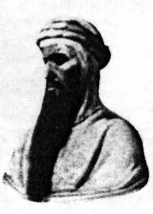 Una representació ideal d´´Abd al-Rahman III, segons un quadre del segle XIX.