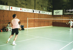 Les instal·lacions esportives de l´Ahmara són utilitzades per molts de practicants del bàdminton i esquaix. Foto: Moisés Copa / <em>Diario de Ibiza</em>.