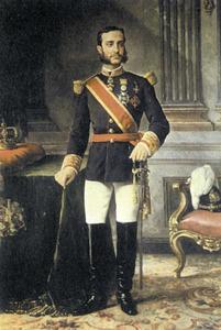 Alfons XII segons un oli de M. Ojeda. Foto: Palau d´Aranjuez.