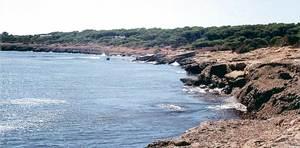 La costa del torrent de s´Alga, a la part de migjorn de l´illa de Formentera. Foto: Enric Ribes i Marí.