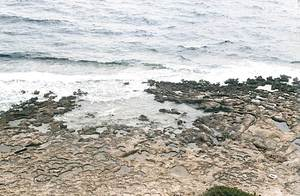 S´Amarador des Llinc, a la costa S de la Mola (Formentera). Foto: Enric Ribes i Marí.