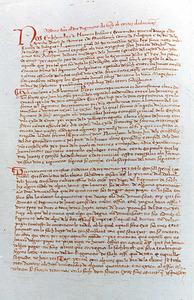 Reproducció d´una pàgina del Règim de Sort i Sac, que es començà a aplicar sota el manament d´Anselm Amigó. Foto: cortesia de l´Arxiu Històric d´Eivissa.