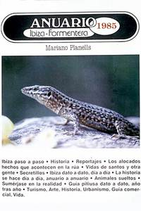 Portada de l´<em>Anuario de Ibiza y Formentera</em> de 1985.