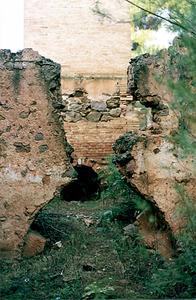 Mines de s´Argentera. La farga. Foto: Rosa Vallès Costa.