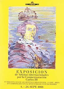 Casa dels Artistes. Portada del catàleg de l´exposició d´hgomenatge a Carles III.