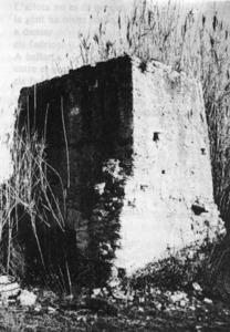 El molí d´en Ferrer és un dels molins de Balansat. Extret d´<em>Illes Pitiüses. IV. Balansat</em>.