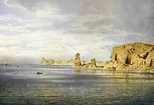 Die Balearen. L´illa des Bosc, a l´extrem sudoccidental de la badia de Portmany. Extret de <em>Les Antigues Pitiüses</em>.