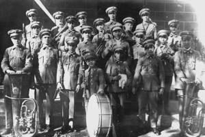 Banda Municipal de Música d´Eivissa. Una imatge del 19 de desembre de 1925. Foto: cortesia de l´Ajuntament d´Eivissa.
