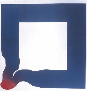 Erwin Bechtold. <em>In extesto</em>, 130 x 130 cm. Extret del llibre <em>Bechtold</em>, de Heiner Stachelhaus i Daniel Giralt-Miracle.