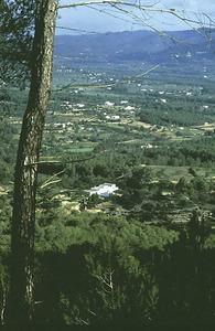 Vista de la vénda de Bellmunt, des de sa Talaia de Sant Llorenç.