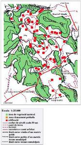 Mapa de la vénda de Benimaimó. Elaboració: Josep Antoni Prats Serra.