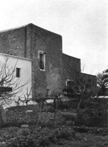 La torre de Benimussa. Extret de <em>Torres y piratas en las islas Pitiusas</em>.