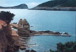 En Bessó, a la costa des pou des Lleó. Foto: Enric Ribes i Marí.