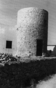 El molí d´en Bet (extret d´<em>El llarg camí del pa a Formentera</em>). Foto: Joan Marí Cardona.