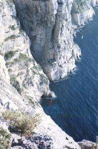 Na Blanca, a la costa coronera del racó Verd. Foto: Enric Ribes i Marí.