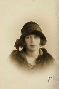 La pintora Anne Marie Blaupot ten Cate, que residí a Eivissa durant la Segona República. Foto: Walter Benjamin.