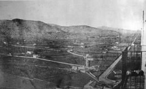 Ses Botigues en una fotografia del començament del s. XX. Foto: extret d´<em>Eivissa antiga</em> / Grup IF.