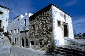 L´edifici conegut com la Cúria o casa de la Cúria. Foto: Vicent Marí.