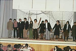 El grup de teatre de Ca Nostra. Foto: Marià Torres Torres.