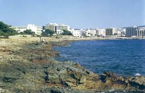 La costa de Ca na Sol. Foto: Enric Ribes i Marí.
