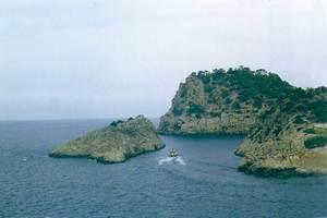 La illeta de Cala Salada. Foto: Enric Ribes i Marí.