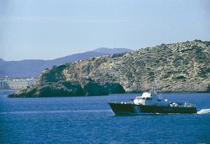 A l´esquerra de la imatge, la punta del Calvari. Foto: Enric Ribes i Marí.