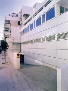 Centre Insular de Sanitat (1991). d´A. Basterra, Òscar Canalís i C. Llinàs. Foto: extret de revista <em>D´A</em>.