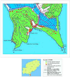 Mapa de la vénda de sa Canal. Elaboració: Josep Antoni Prats Serra.