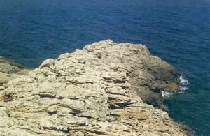 La punta des Cap Negret, a la costa de Sant Antoni de Portmany. Foto: Enric Ribes i Marí.