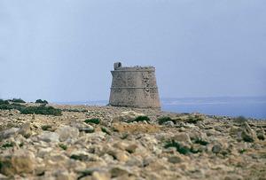 La torre des Cap, a Formentera. Foto: Enric Ribes i Marí.