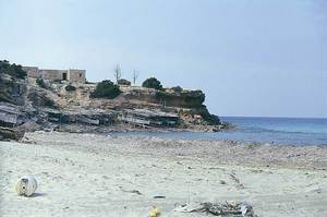 La punta des Caragol, a cala Saona, Formentera. Foto: Enric Ribes i Marí.