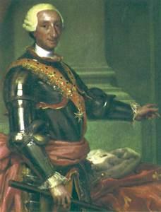 Retrat de Carles III fet pel pintor Mengs.