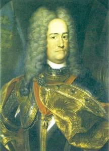 L´arxiduc Carles, emperador romanogermànic, en un retrat de l´Escola Alemanya del s. XVIII. Palau Reial de Madrid / cortesia de la <em>Gran Enciclopèdia Catalana</em>.