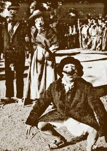 Una imatge de Carnestoltes de la primera meitat del s. XX. Extret d´<em>Historia de Ibiza</em> / Isidor Macabich Llobet.