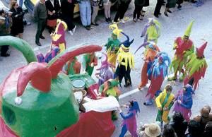 Una comparsa de arnaval de 1993. Foto: Francesca Tur Riera.