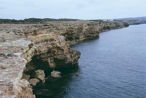 La punta de sa Carrasca, a Formentera. Foto: Enric Ribes i Marí.