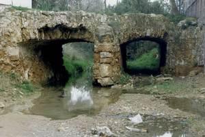 El pont de Cas Piló, també anomenat Segon pont. Foto: Antoni Ferrer Abárzuza.