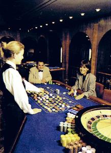 Una ruleta del Casino d´Eivissa. Foto: cortesia de Casino de Ibiza.