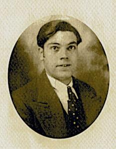 Joan Castelló Guasch, quan era jove.