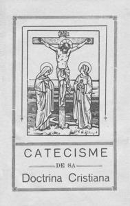 Portada del <em>Catecisme de sa Doctrina Cristiana</em>, editat l´any 1930.