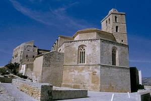 Catedral d´Eivissa. Exterior de l´absis, d´estil gòtic. Foto: Joan Ramon Torres / Rosa Gurrea Barricarte.