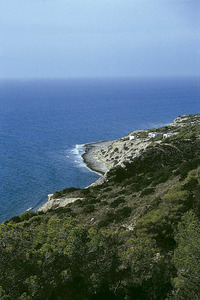 Es Cavall de Ponent, a la costa S de la Mola, Formentera. Foto: Enric Ribes i Marí.