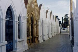 Imatge del Cementeri Vell d´Eivissa. Foto: Antoni Ferrer Abárzuza.