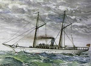 El vaixell <em>Ciudad de Alcudia</em>.